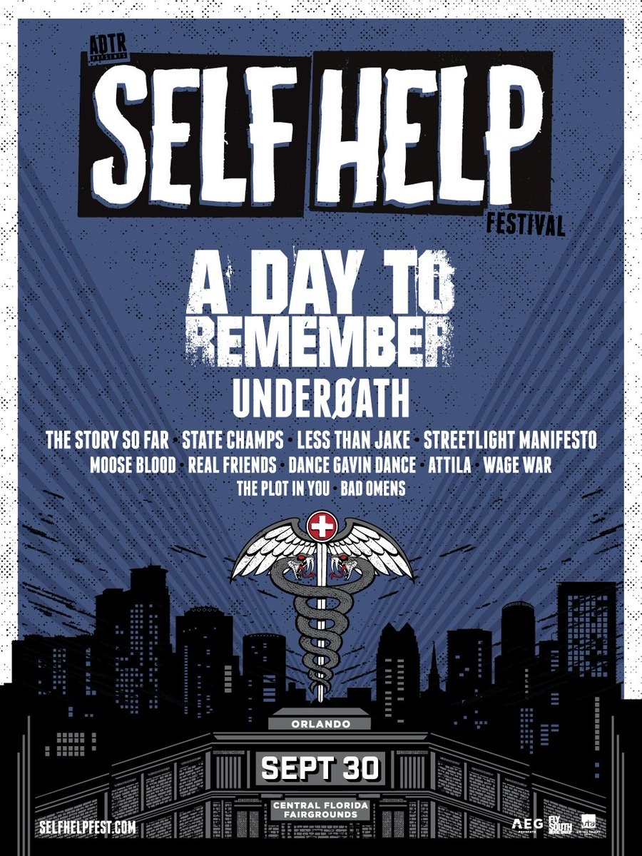 A Day to Remember announces Self Help Fest Philly | Concert Crap