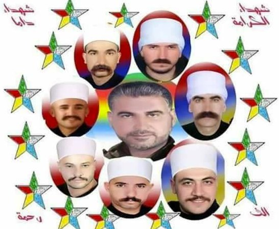 Remembering the Martyrs of Dama who defended the Druze minority from Nusra &amp; FSA wahabis seeking to enslave &amp; convert. 16 August 2014 #Syria <br>http://pic.twitter.com/8VKbIGPC87