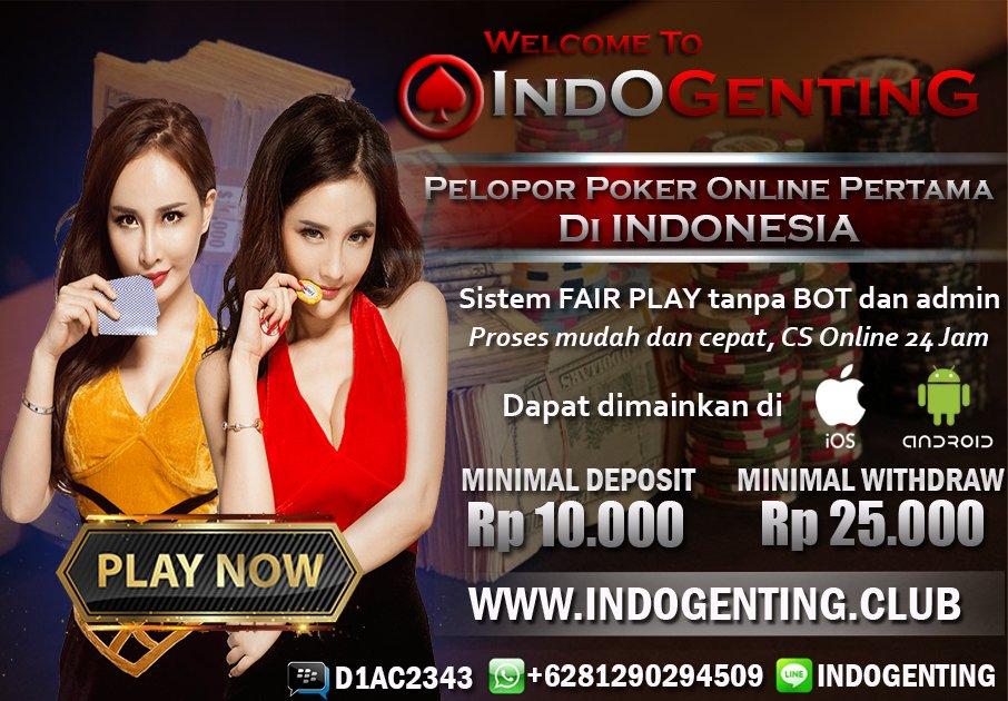 Indogenting على تويتر Https T Co Oh1zkjoigi Pelopor Poker Online Pertama Di Indonesia Sistem Fairplay Tanpa Bot Dan Admin Dapat Dimainkan Di Android Dan Ios Https T Co Nerdjstgqy