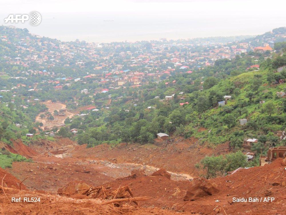 Plus de cent enfants tués dans les inondations en Sierra Leone https://t.co/svmBOwTEGv par @MohamedSaiduBah #AFP