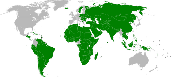 #Map shows which countries currently recognise #Palestine as a state. Interesting perspective on #geopolitics.  https:// buff.ly/2vZs1jn  &nbsp;   <br>http://pic.twitter.com/5LxfbKBoal