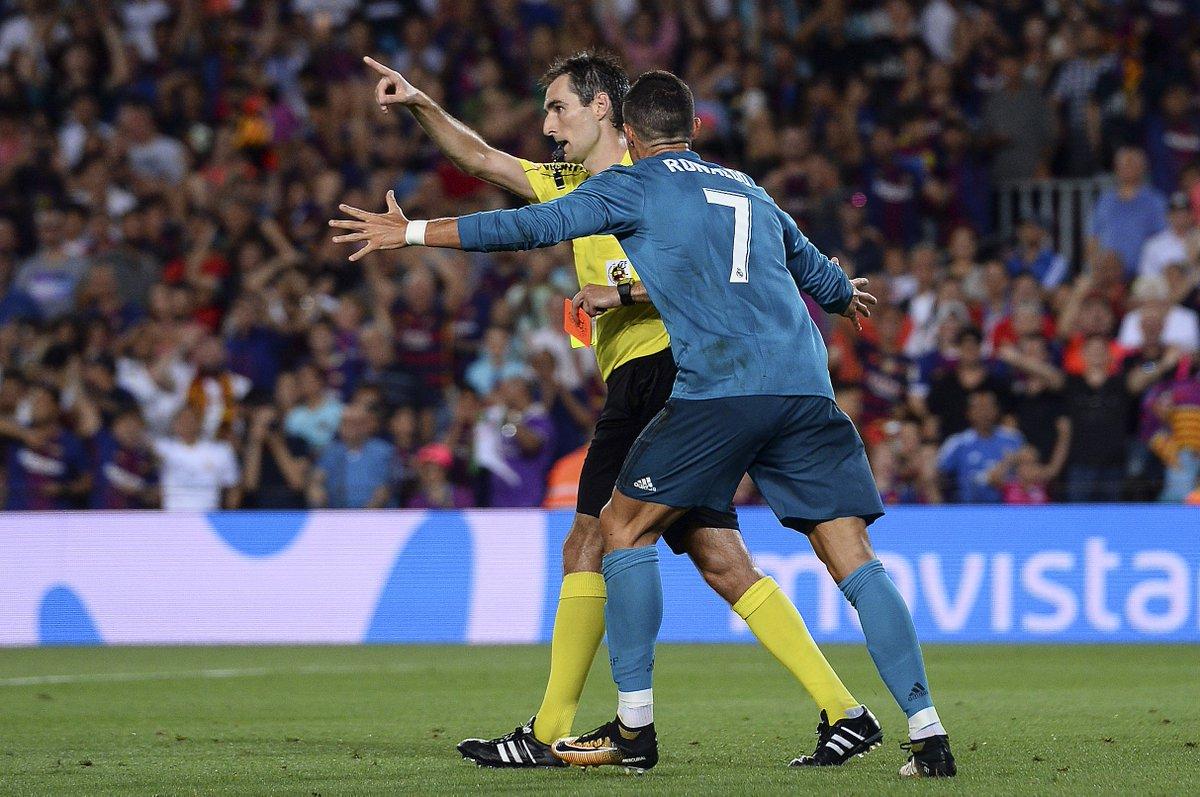 Federação Espanhola mantém suspensão de Cristiano Ronaldo  e craque não enfrenta o Barcelona https://t.co/RjkPXGhT3b