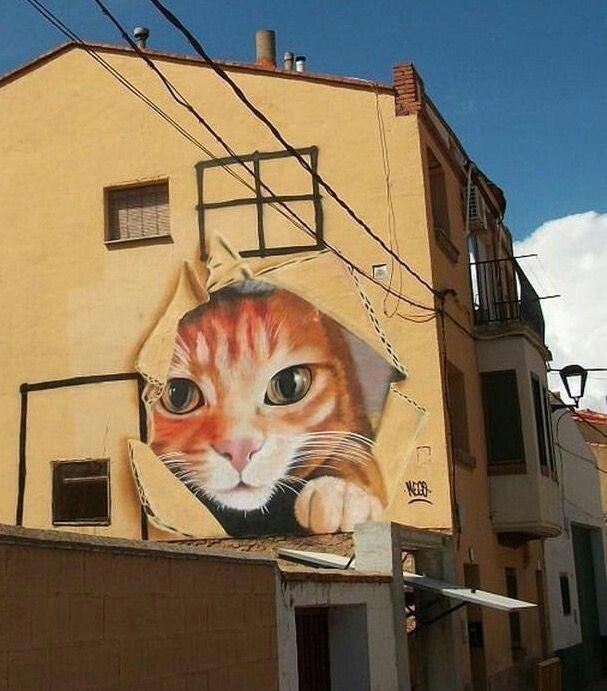 Street art par Nego Graff #Espagne <br>http://pic.twitter.com/Kc86asABa8