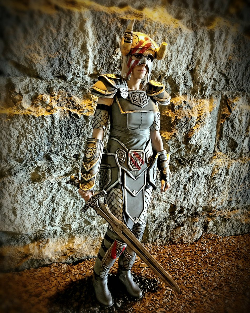 @TESOnline Nord Hero armor   #ESO is my favorite game &amp; I had so much fun with this!  #ElderScrollsOnline #cosplay #Skyrim #Bethesda #Nord <br>http://pic.twitter.com/TbpIsDelYo