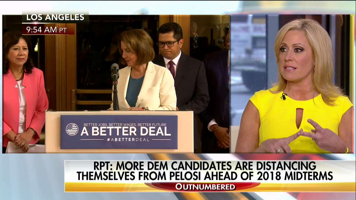 .@MelissaAFrancis: '[@NancyPelosi] seems to symbolize the wealthy one percent liberal elite.' #Outnumbered