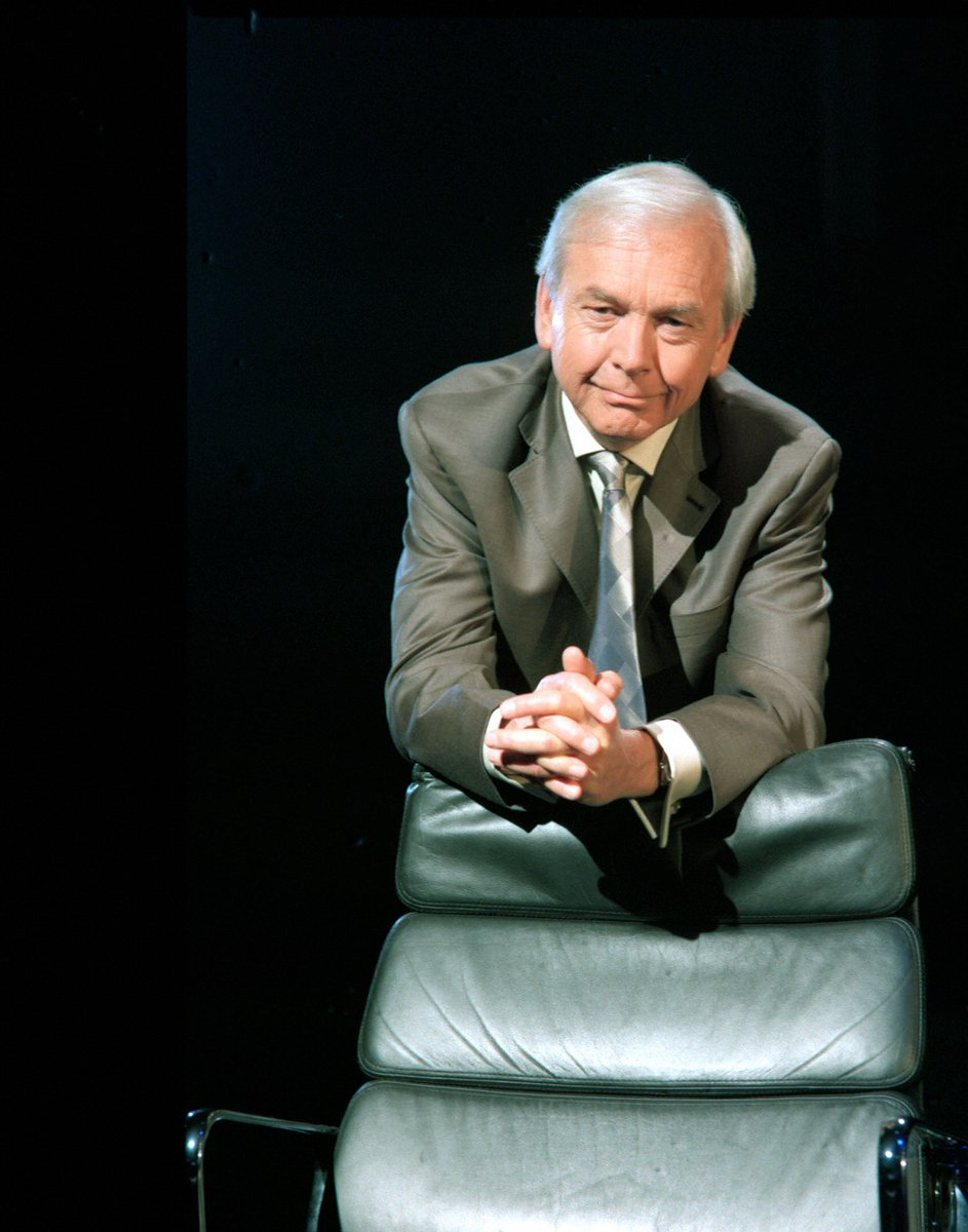 Happy Birthday to presenter, journalist, and author John Humphrys, who was born in Cardiff #OnThisDay in 1943.