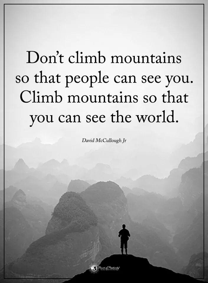 Don&#39;t climb Mountains so that... #defstar5 #Mpgvip #IQRTG #makeyourownlane #spdc #startup #entrepreneur<br>http://pic.twitter.com/SmRDf2qFDk