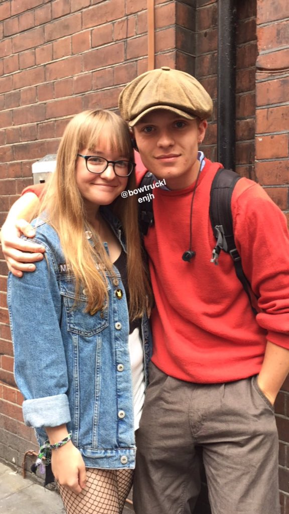 #NEW — Tom with @bowtrucklenjh today, 16/08.<br>http://pic.twitter.com/0qUHu6rA40