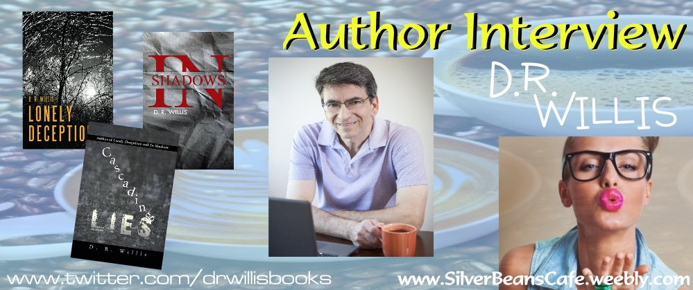 We had a chance to chat with Mystery/Suspense/Romance Author @DRWillisBooks. Read #Author #Interview  http://www. silverbeanscafe.weebly.com/meet-the-autho r-david-willis-interview.html &nbsp; … <br>http://pic.twitter.com/6mJGzSGgz0