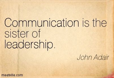 For great #leadership you need great #communication !   #skills #business #lifestyle #success #wealth #quote #tips <br>http://pic.twitter.com/4f7CawT5J0