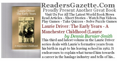 Laurie Driver: The Early Years - A Manchester Childhood (Laurie  #HistFic #Comedy https://t.co/mgQN7WOFOI This third and lat #RGBook 9