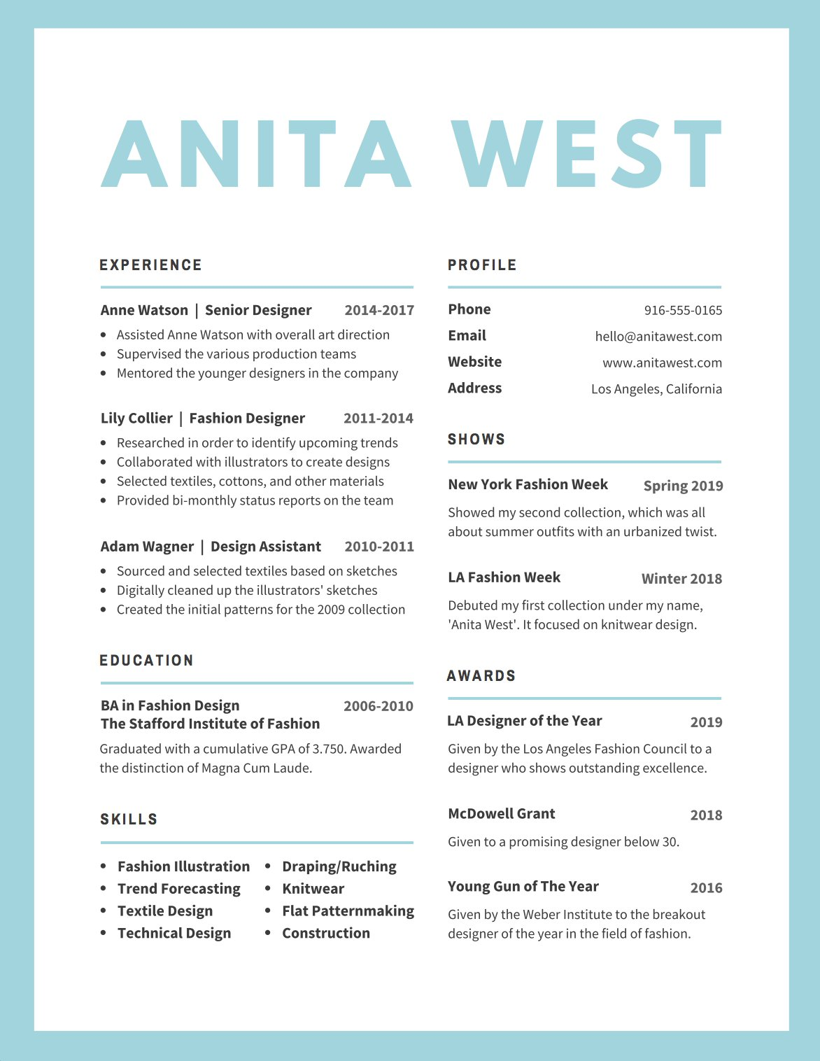 using color in a resume - Saman.cinetonic.co