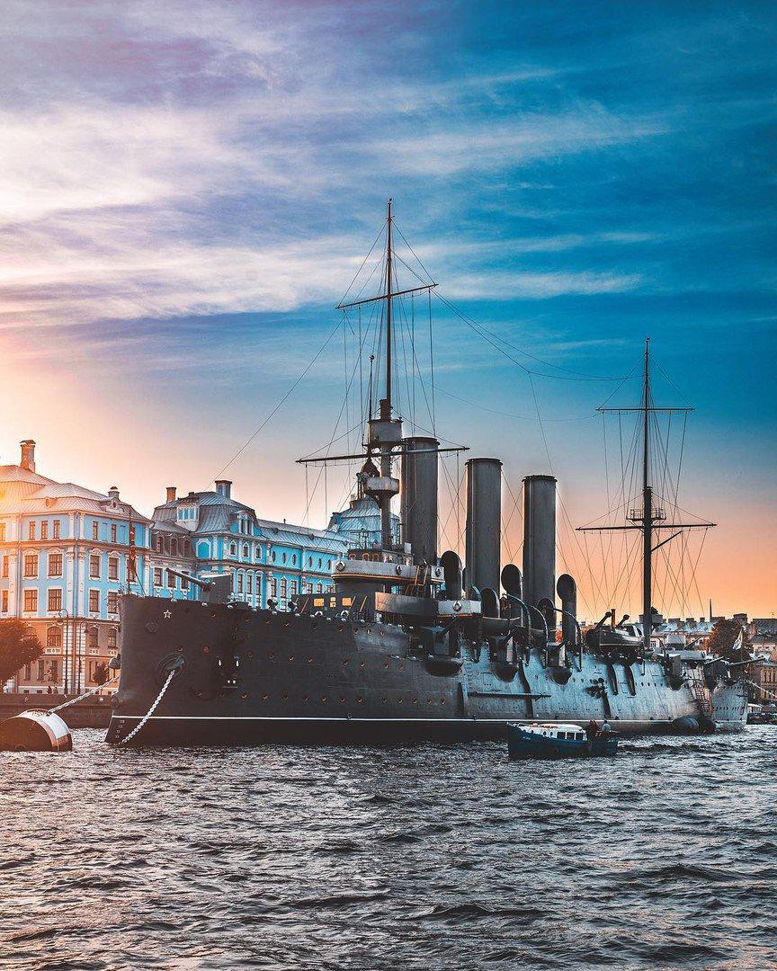 получила санкт петербург фото крейсер аврора собрали интересные варианты