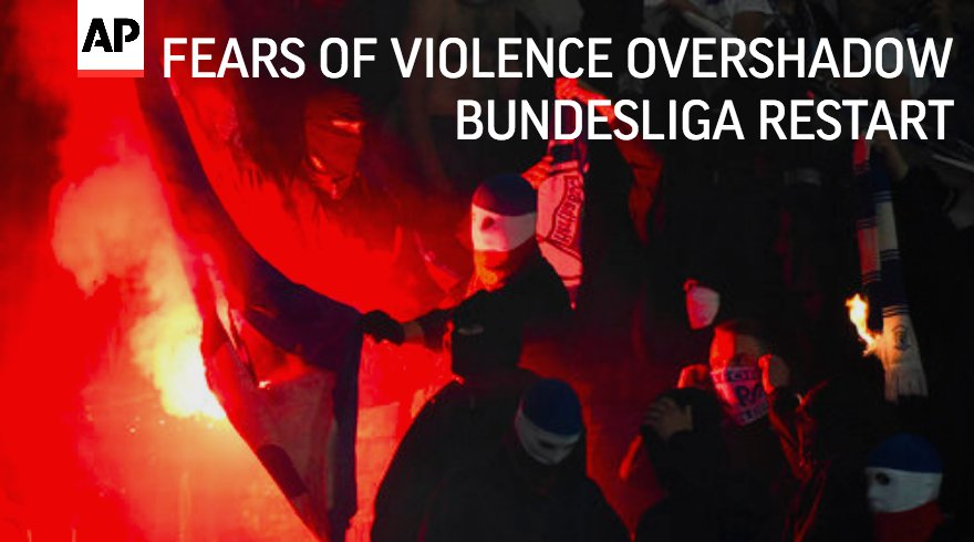 Fan trouble and the threat of violence are overshadowing Friday's start to the Bundesliga.season. @cfaheyAP  https://t.co/be8P43cBsi