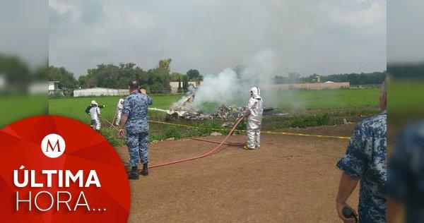 #ÚLTIMAHORA | Chocan dos aeronaves del Ejército en #Tecámac https://t....
