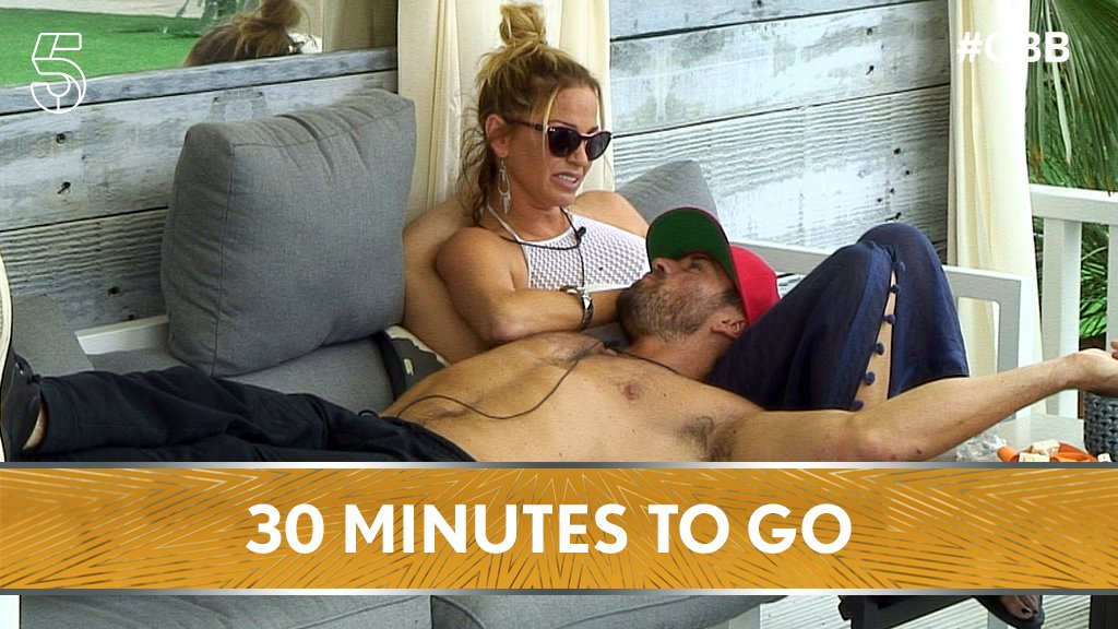 Grab your boo and get cosy, there's only half an hour until #CBB start...
