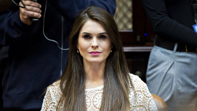 Hope Hicks Named White House Comms Director