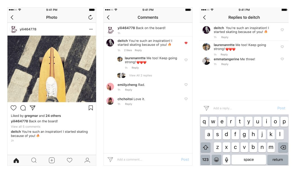 Instagram Updates Comments Layout to Rationalize Replies https://t.co/ejLC30VwZJ