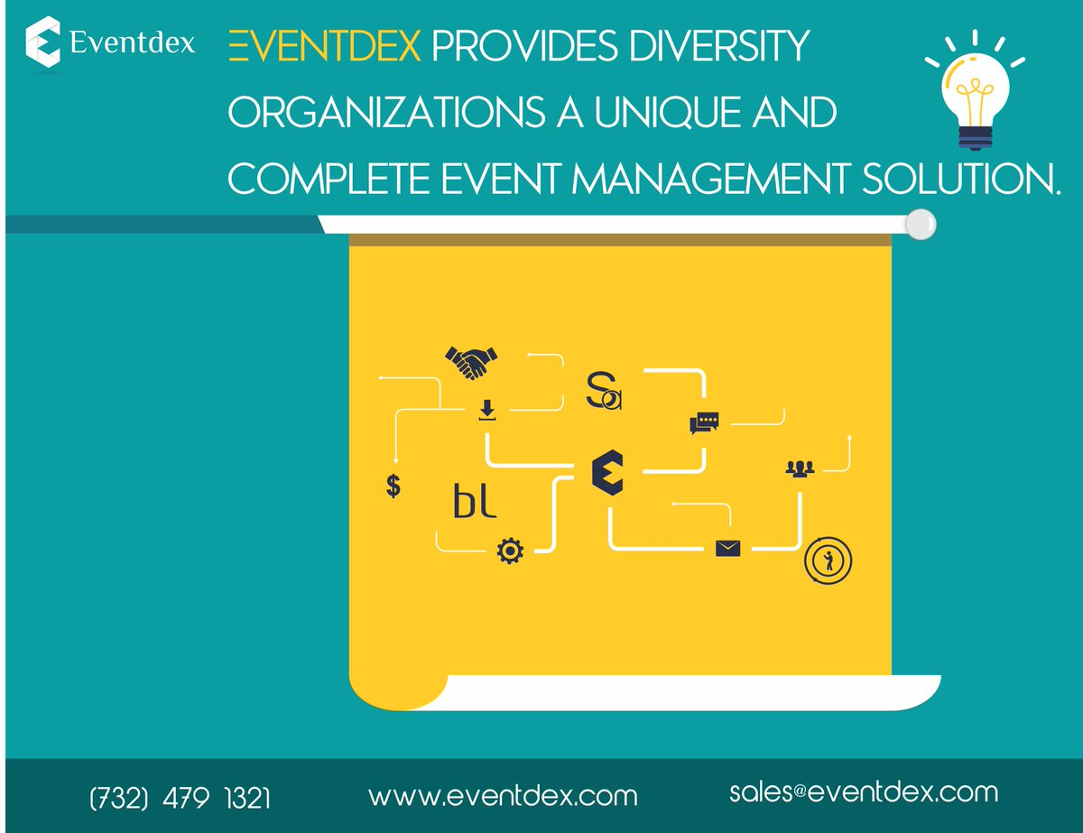 #Eventdex provides diversity organizations a unique and complete #eventmanagement solution.   http:// ow.ly/LSNC30escNA  &nbsp;   #eventorganiser #events <br>http://pic.twitter.com/YDZUHKtsT8