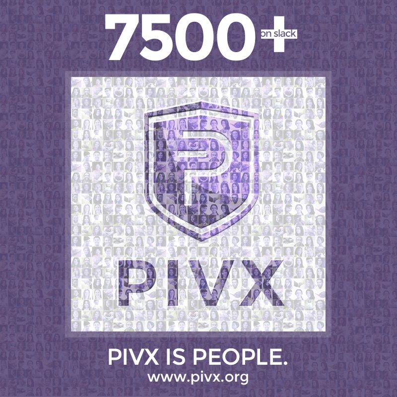 #PIVX just introduced its 7500 member to  http:// slack.pivx.org  &nbsp;  !  All are welcome to join!  The #global #community using #crypto is growing<br>http://pic.twitter.com/4vd0FckHde