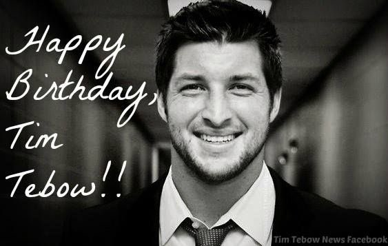 - Happy Birthday Chris America   -Tim Tebow Loves You  -Your Romper looks good