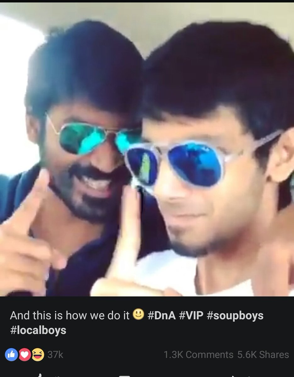Missing this Deadly combo.  @dhanushkraja @anirudhofficial   #DnA #Soupboys<br>http://pic.twitter.com/eFI0fLWak6