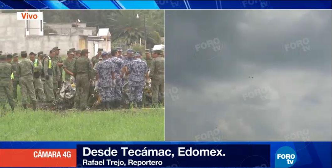 En Vivo: @SEDENAmx atiende accidente aéreo en #Tecamac, #Edomex https:...