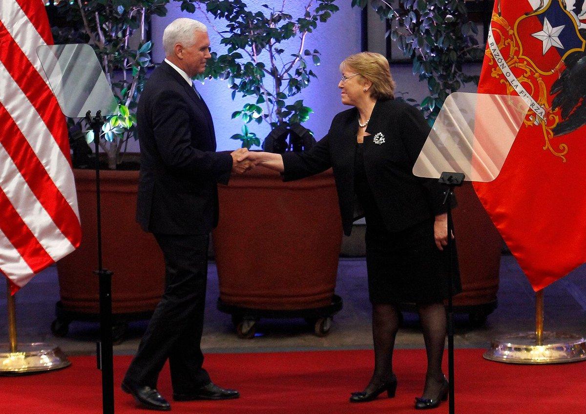 Michelle Bachelet y Venezuela: Chile 'no apoyará ni golpes de Estado n...