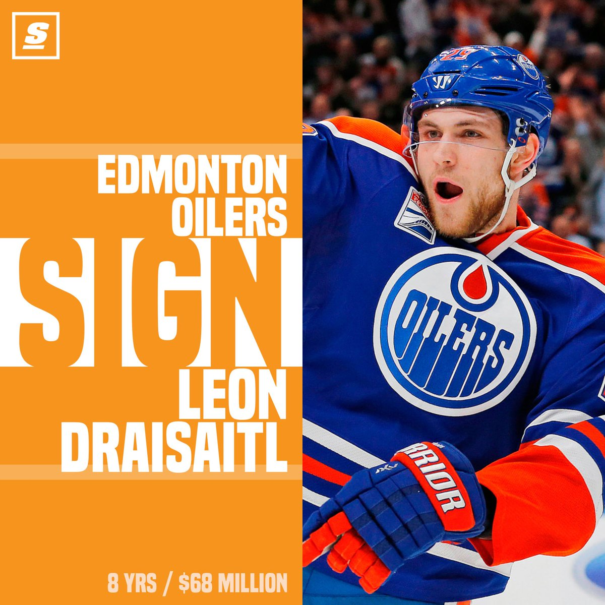 BREAKING: Oilers lock up Leon Draisaitl. https://t.co/LC2oD0UnEi https...
