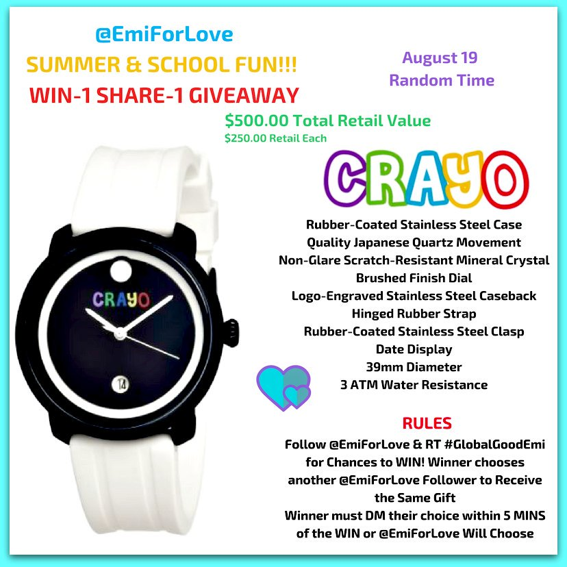 #WednesdayWisdom #Follow @EmiForLove for great awareness campaigns &amp; #giveaways #RT #GlobalGoodEmi 2 enter #Win-1 #Share-1 #Giveaway Read--&gt;<br>http://pic.twitter.com/UhjKyh59va