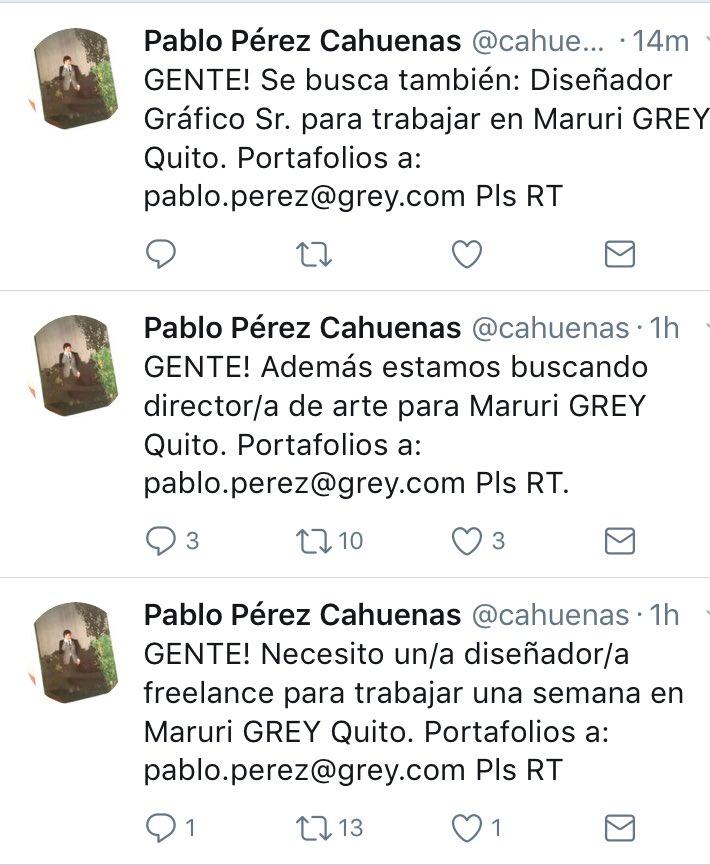 #SiHayTrabajo contactarse con @cahuenas <br>http://pic.twitter.com/FaI8ggFRRH