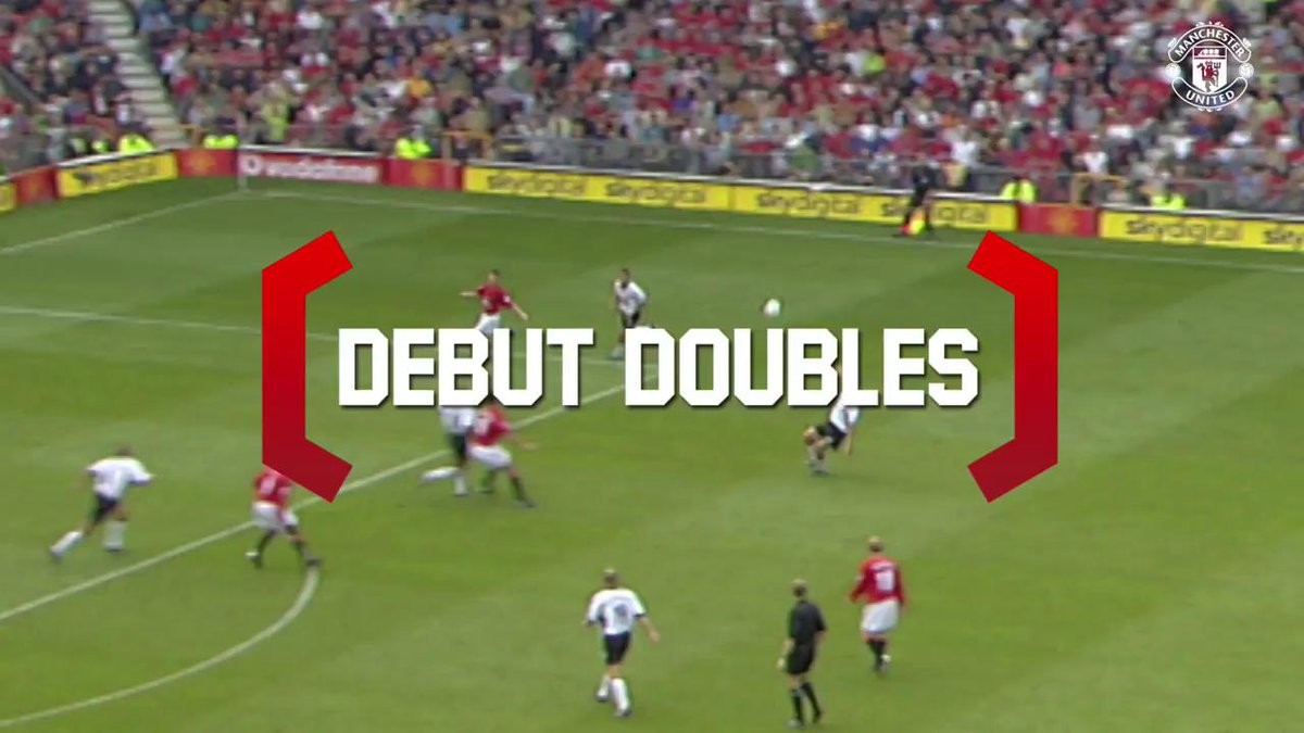 .@RomeluLukaku9 became the latest #MUFC name to register a debut double in the @PremierLeague...