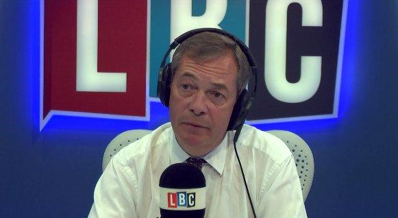 "Irishman tells @Nigel_Farage a hard border would ""100 per cent"" threaten the Good Friday Agreement https://t.co/vmKlE9fNx7 #FarageOnLBC"