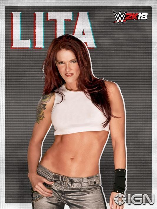 .@AmyDumas (#Lita) is officially on the #WWE2K18 roster! @IGN https://...