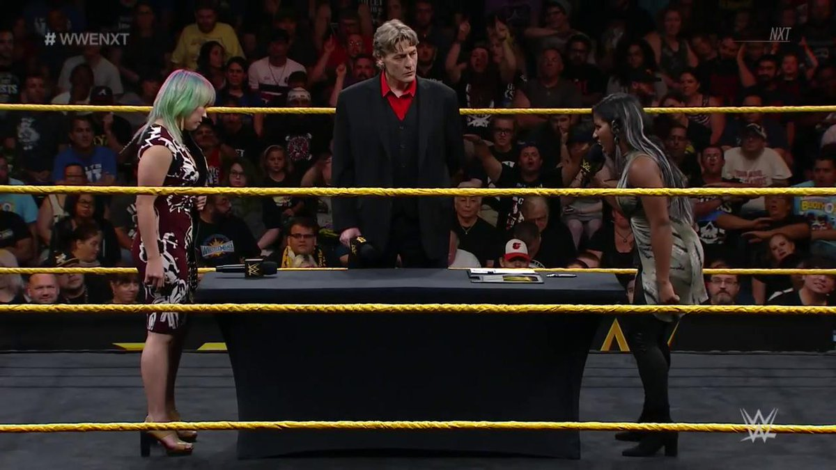 Resultats WWE NXT 16 aout 2017