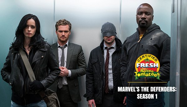Marvel's THE DEFENDERS Is Officially Certified