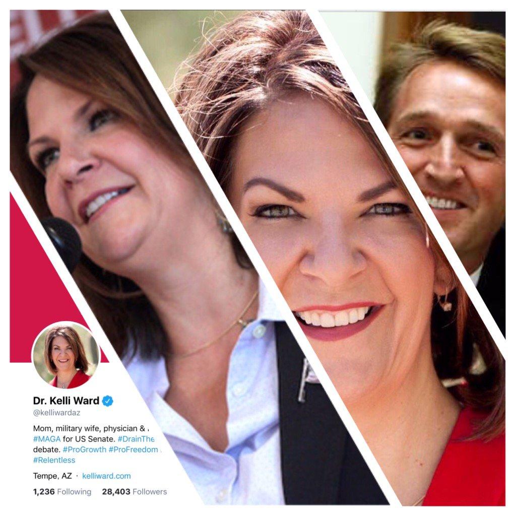 KELLI WARD will help @POTUS #MAGA #Donate @kelliwadaz #Vote 2018 #FlakeIsNeverTrump  Dr. Kelli Ward 4 Senate<br>http://pic.twitter.com/6c3j7UMXj6