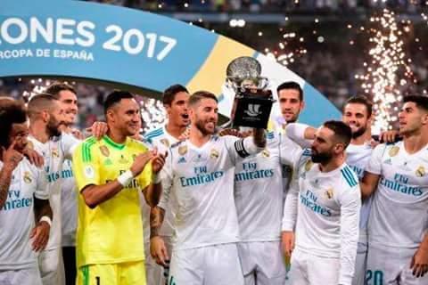 Soo happy to see my fav team winning trophies  well played guys #Asensio #Benzema #HalaMadrid<br>http://pic.twitter.com/RlYIElOjqn