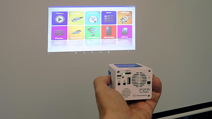 PCMag On Twitter REVIEW Aaxatech P2 A Smart Pico Projector Triumph Of Miniaturization Tco OEODHR443f