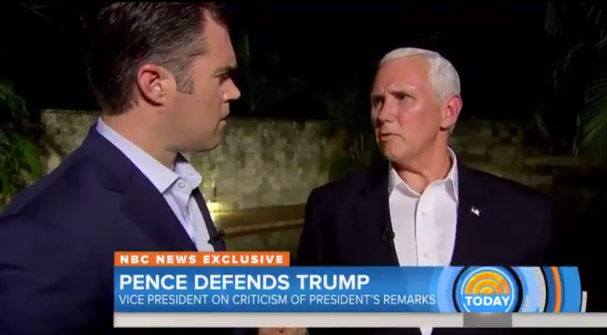 Pence and Sessions go to extreme lengths to defend Trump's failure to denounce white supremacists http://crwd.fr/2i1BBfS