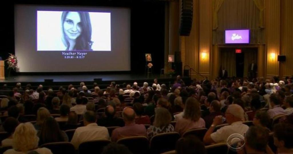 Charlottesville holds memorial service for attack victim Heather Heyer https://t.co/AOHpY2cZbM