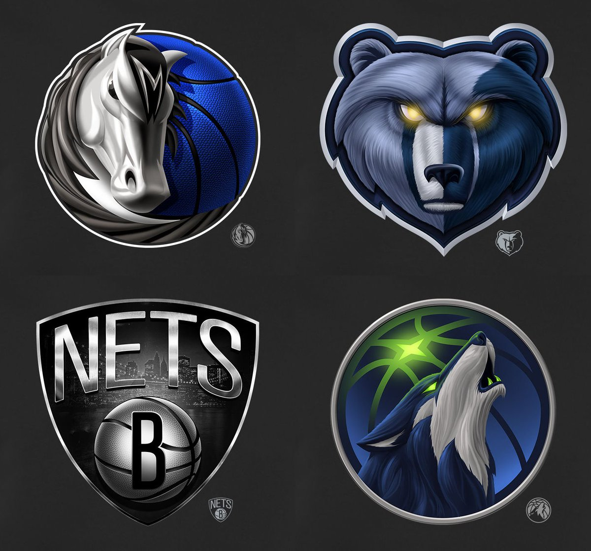Nba Logos 2017 >> Conrad Burry On Twitter Must See Some Amazing 3d