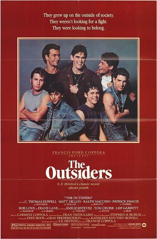 &quot;Stay gold, Ponyboy...Stay gold...&quot; - #TheOutsiders   Original #movieposter:  https:// buff.ly/2w4B2YE  &nbsp;  <br>http://pic.twitter.com/sALJ713QlG