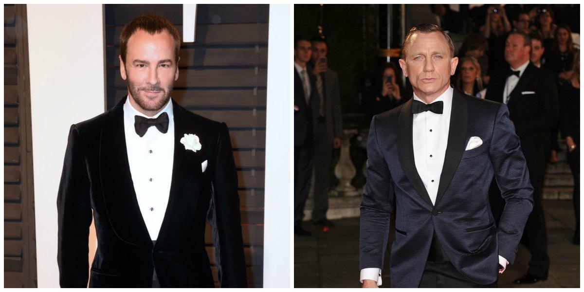 Tom Ford creates custom suits for Daniel Craig's role as James Bond: h...