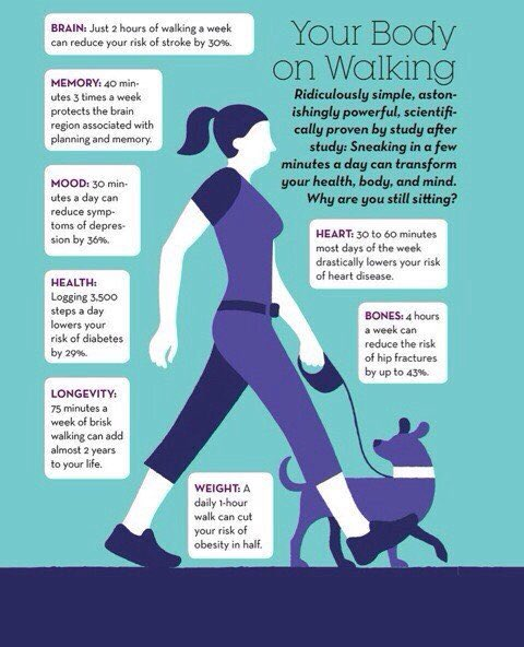 Unbelievable benefits, ridiculously simple. Get these benefits from walking .... https://t.co/yun2aT9bh5