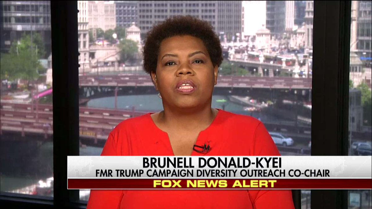 .@brunelldonald: 'You had the violence on the right & then you had AntiFa throwing urine... There was wrongdoing on both sides.'