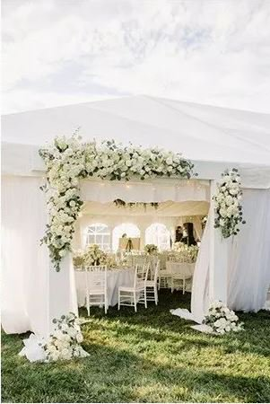 20 TENTED WEDDING RECEPTION IDEAS YOU'LL LOVE!  http:// ow.ly/mE8h30eo1v3  &nbsp;   #weddinghour #WeddingWednesday #WednesdayWisdom @WeddingHour<br>http://pic.twitter.com/9Q7mnQRhT7