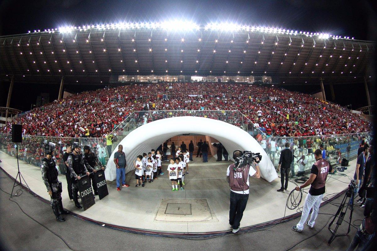 O jogo entre Flamengo x Paraná, válido pela Copa da Primeira Liga, no próximo dia 30/08, acontecerá no Estádio Kleber Andrade, em Cariacica.
