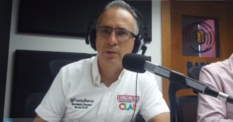 """Freddy Bernal: """"Nuestro pueblo no se arrodillará ante ningún imperio""""..."""