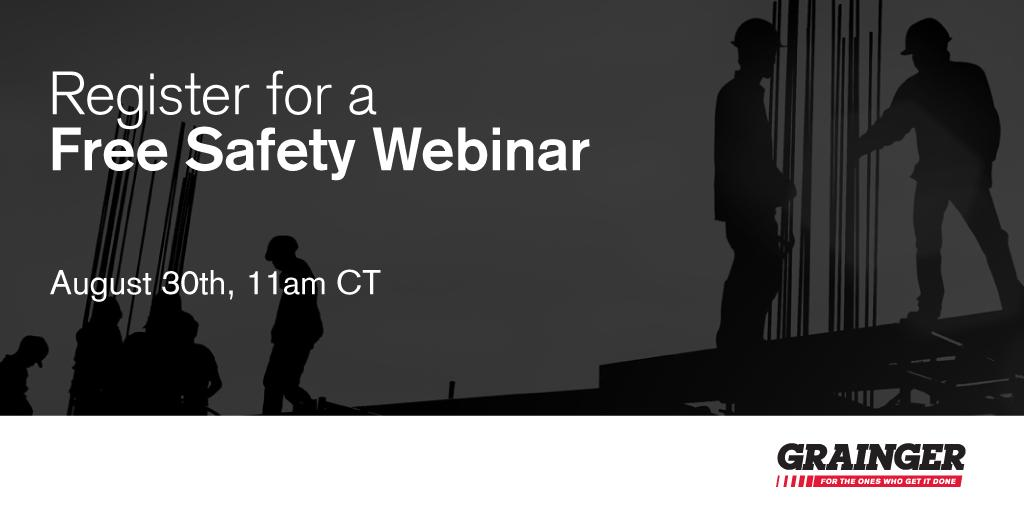 Join us on 8/30 at 11AM CT for a discussion of a recent #ASSE members survey on the value of the #OSHA Top 10  http:// bit.ly/2wgrVDu  &nbsp;  <br>http://pic.twitter.com/lhyO2y477n